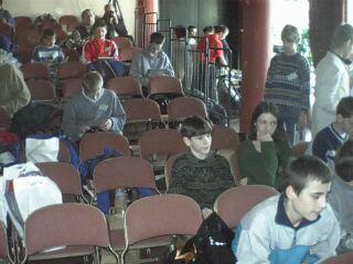 Pohled do publika o přestávce