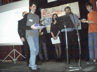 Zdeněk Cendra vyhrál v tombole webovou kameru.